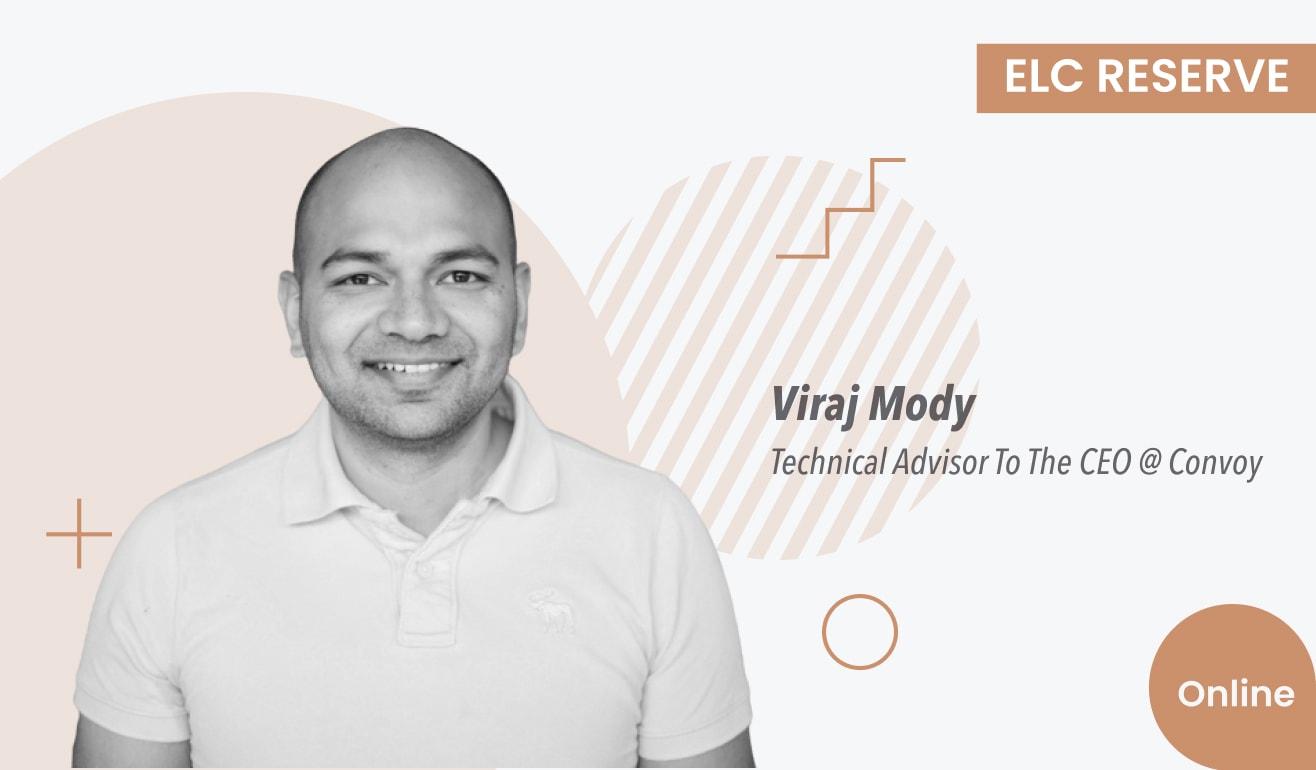 How to Become an Advisor: a Conversation with Viraj Mody